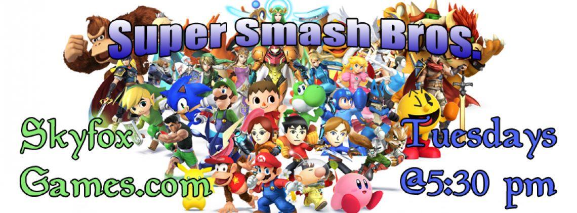 Super Smash Bros for Wii U Logo